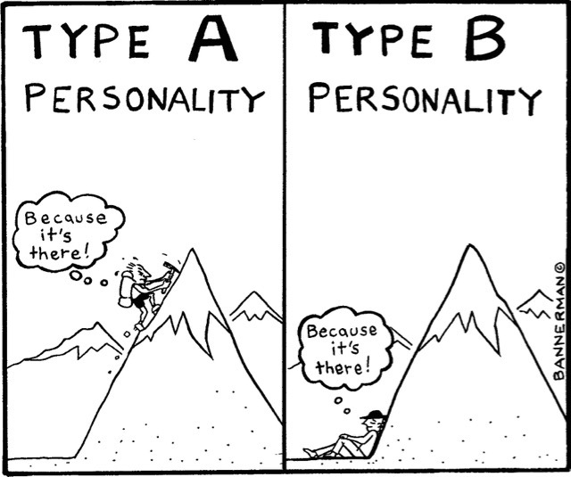 type a personality traits