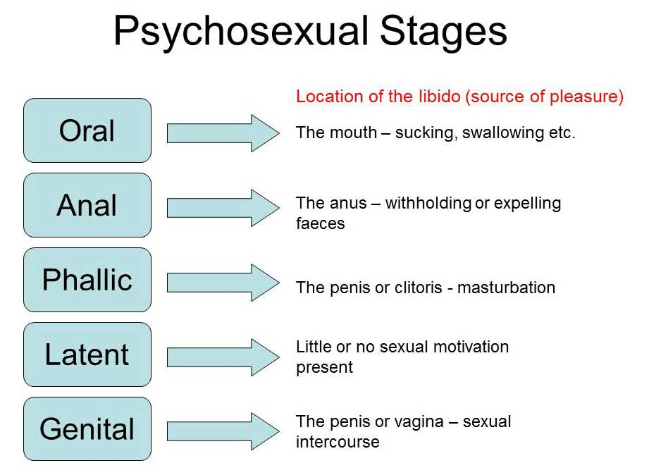 Freuds psychosexual stages summary