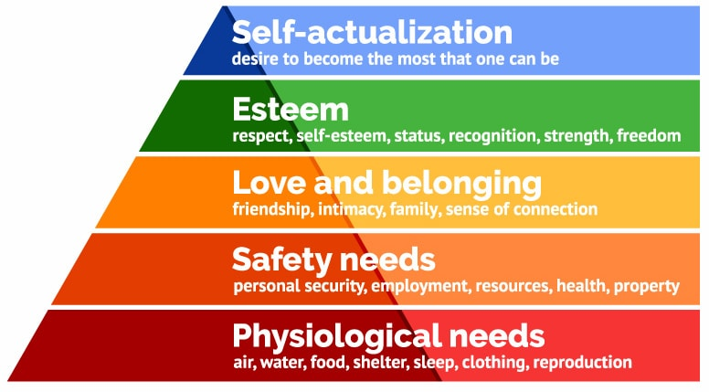 understanding the hierarchy of human needs Human needs are an important part  maslow's hierarchy of needs and  which are two opposing perceptions about how people view human behavior at work and.
